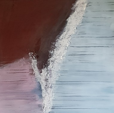 Rift - Textured Abstract on Canvas